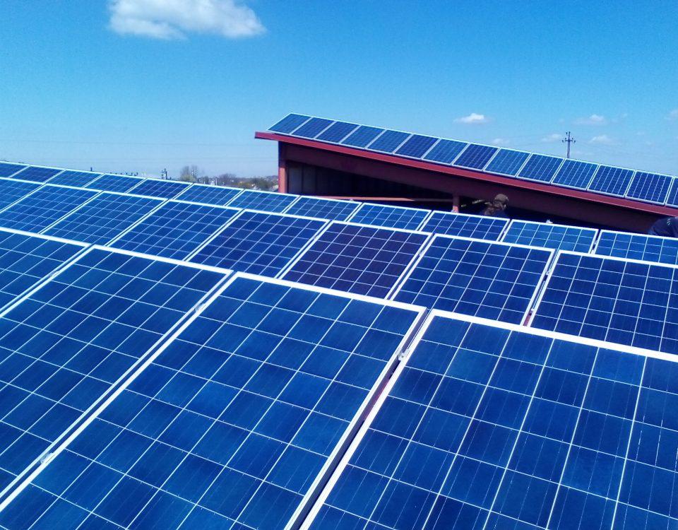 домашня мережева сонячна електростанція 30 кВт фото