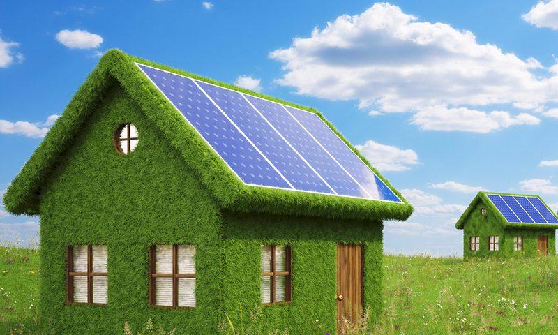 сонячні електростанції для дому фото