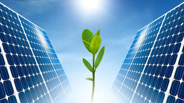Сонячні батареї для опалення фото