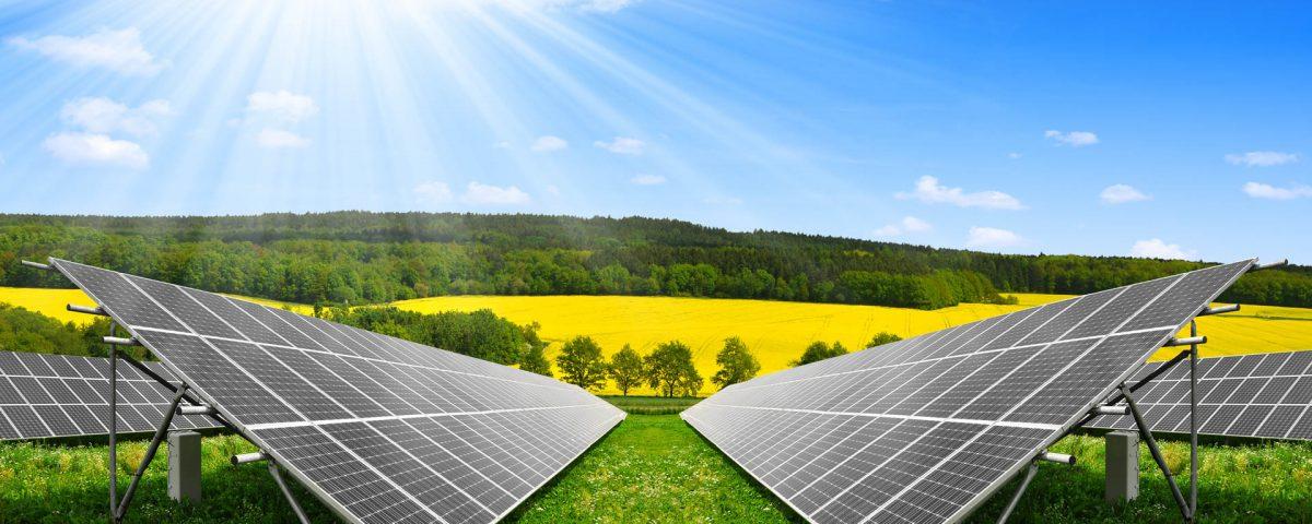 мережева сонячна станція фото